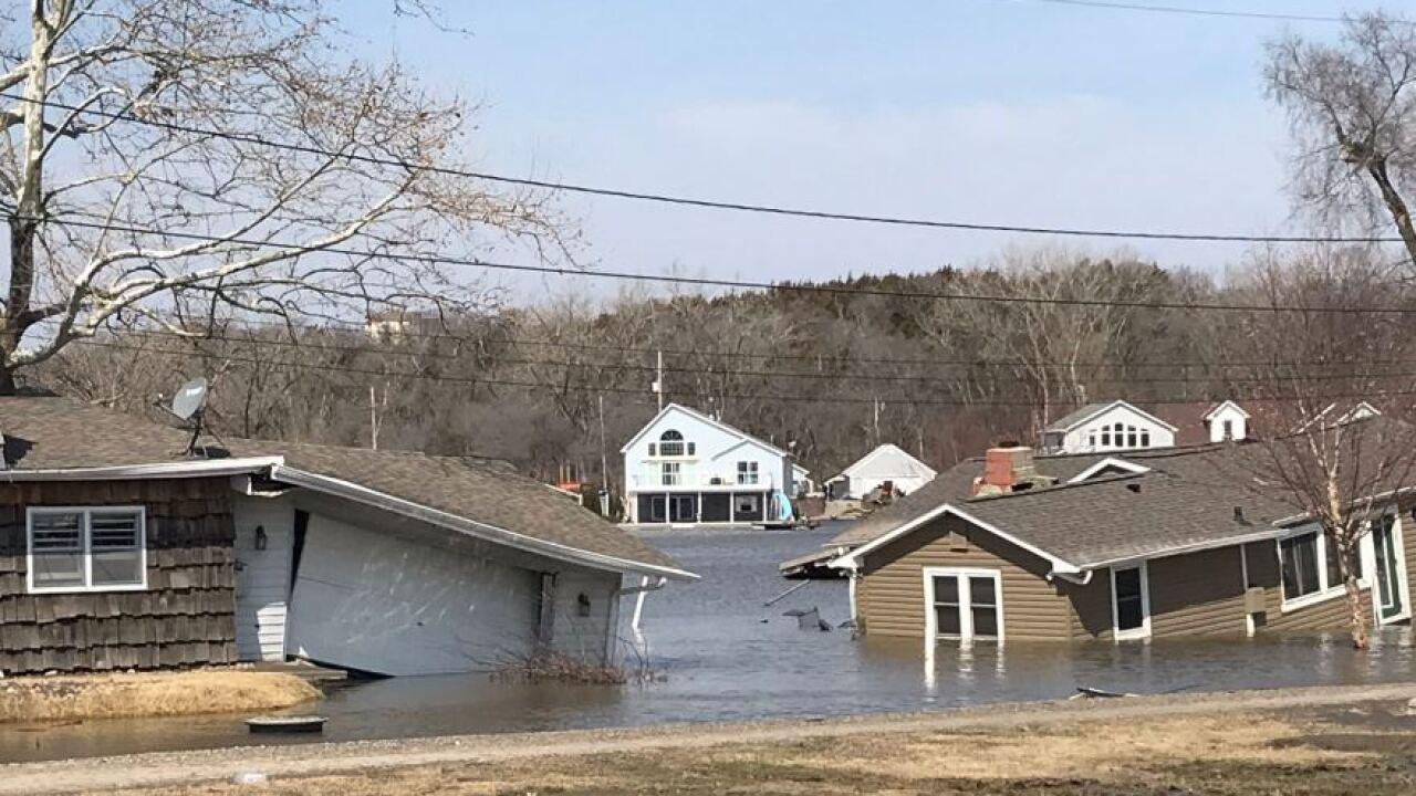 hanson lake homes destroyed