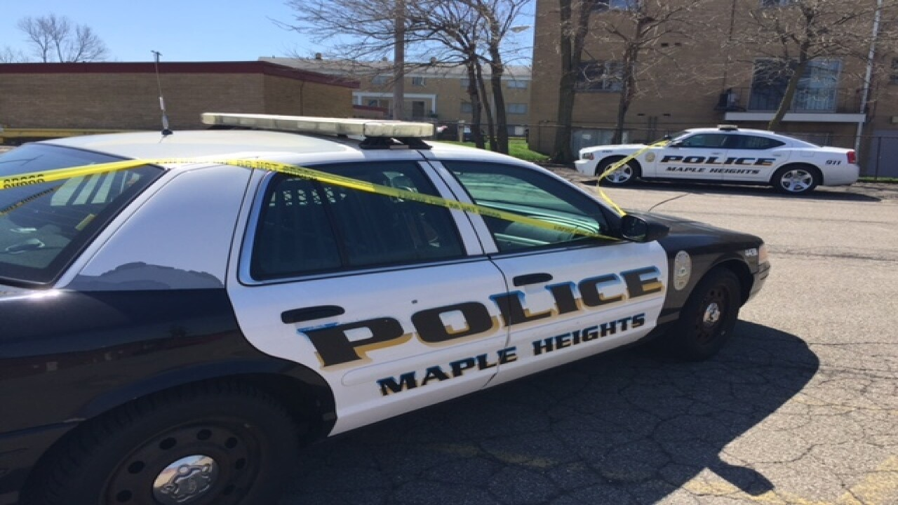 Maple Heights police cars