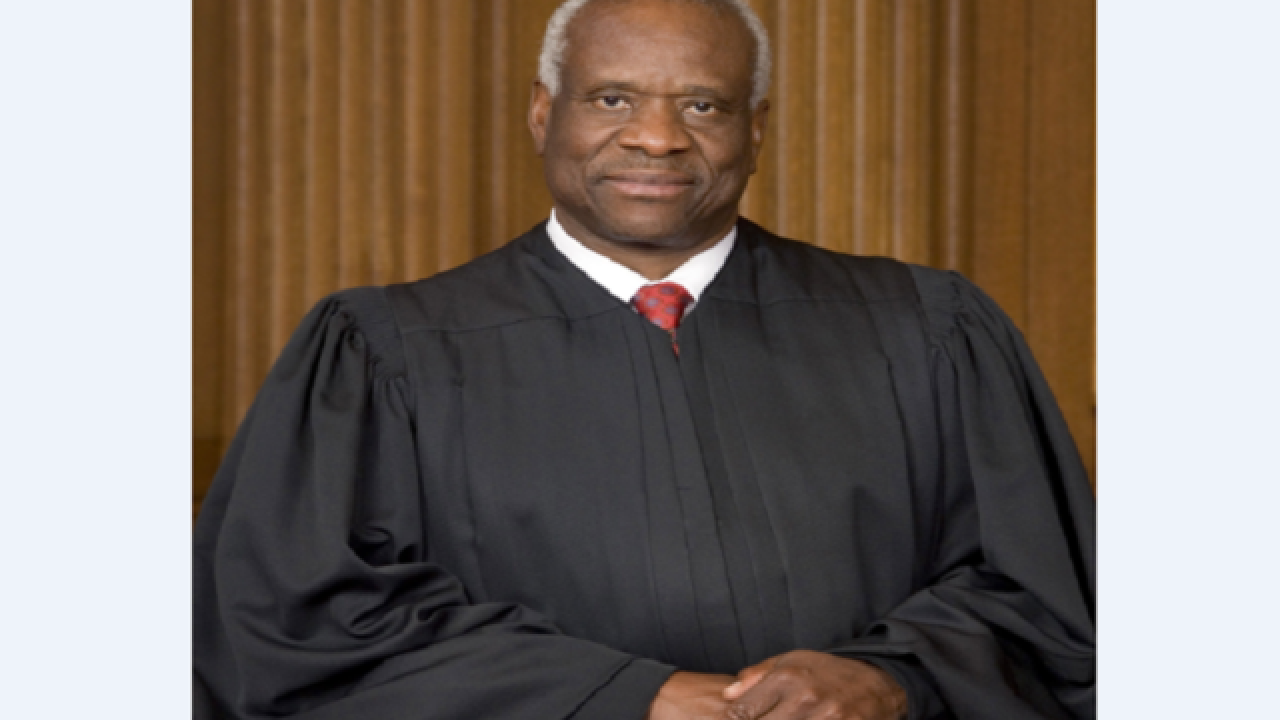 Justice Clarence Thomas temporarily stays execution of Ala. inmate