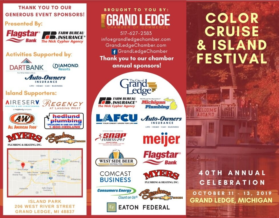 color cruise and island festival