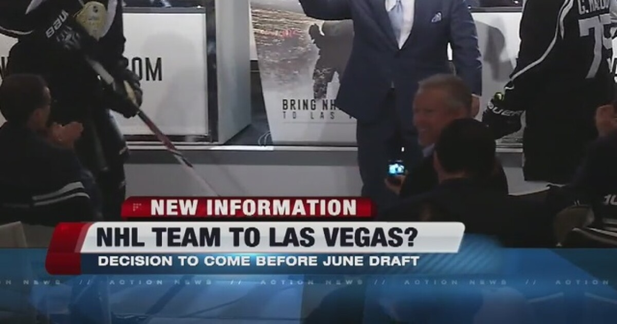 Vegas hockey team rumors back on the table