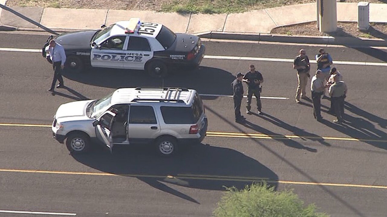Woman found dead, man found injured in Mesa