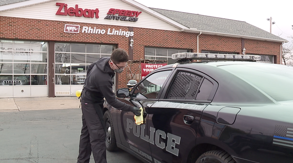 Ziebart offers free antibacterial cleaning for first responder vehicles