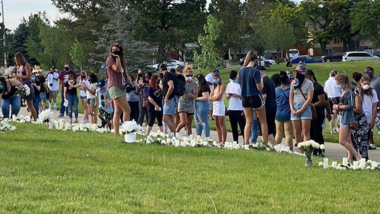 Crowd at Vigil