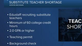 Substitute teaching shortages hit West Michigan