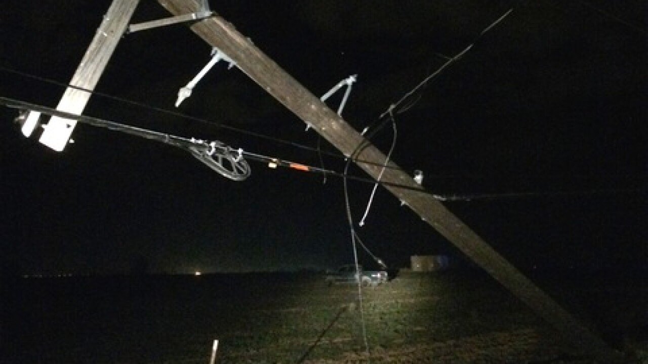 DUI suspect knocks out power for Kuna/Meridian