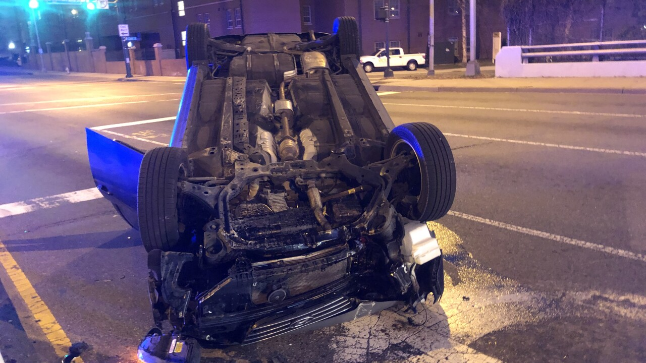 Driver fell asleep at wheel before flipping car near VCU