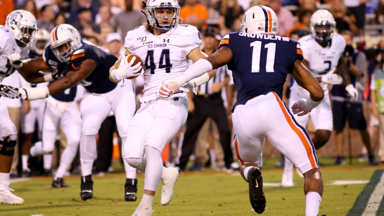 UVA football's Charles Snowden receives multiple weekly honors
