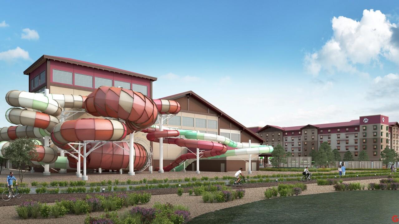 Great Wolf Lodge Arizona rendering
