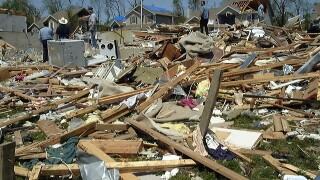 PHOTOS: May 4, 2003 tornado damage in KCK, Liberty