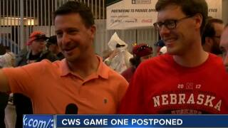 Fans react to CWS delays