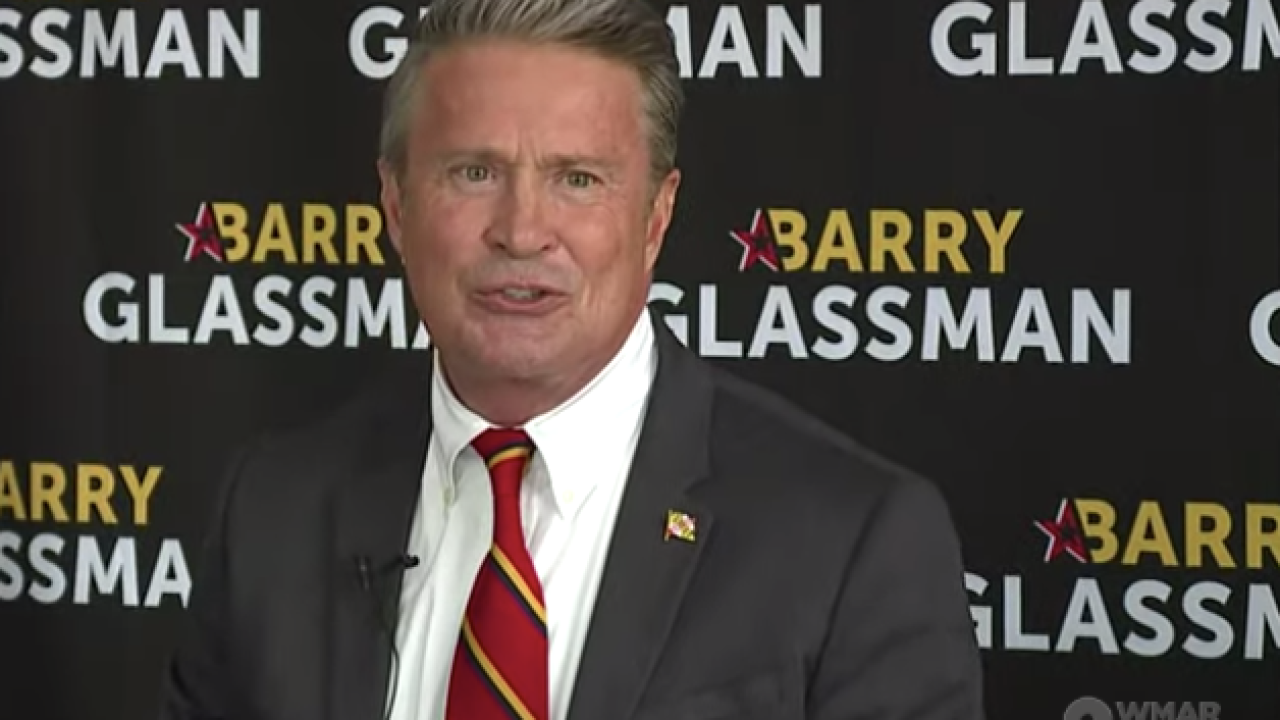 Harford County Executive Barry Glassman is running for Maryland Comptroller in 2022
