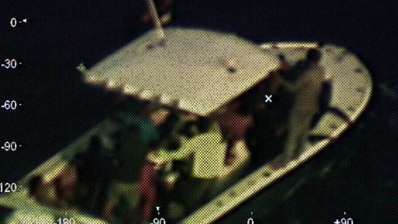 The Coast Guard and the crew of the cruise ship Carnival Fantasy rescued 23 individuals on the high seas, 130 nautical miles off the Yucatan Peninsula, April 14, 2019. A Coast Guard Air Station Miami HC-144 Ocean Sentry aircrew located the disabled vessel and directed the Carnival Fantasy toward their location for rescue.