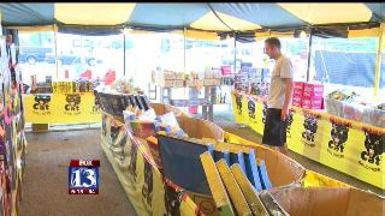 Fireworks sales down this year