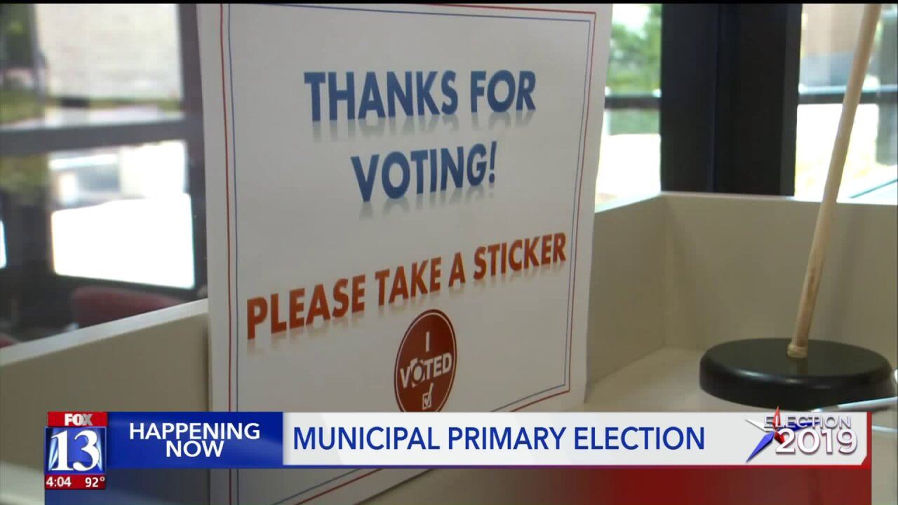 Slow, lower-than-expected voter turnout in municipal primary elections