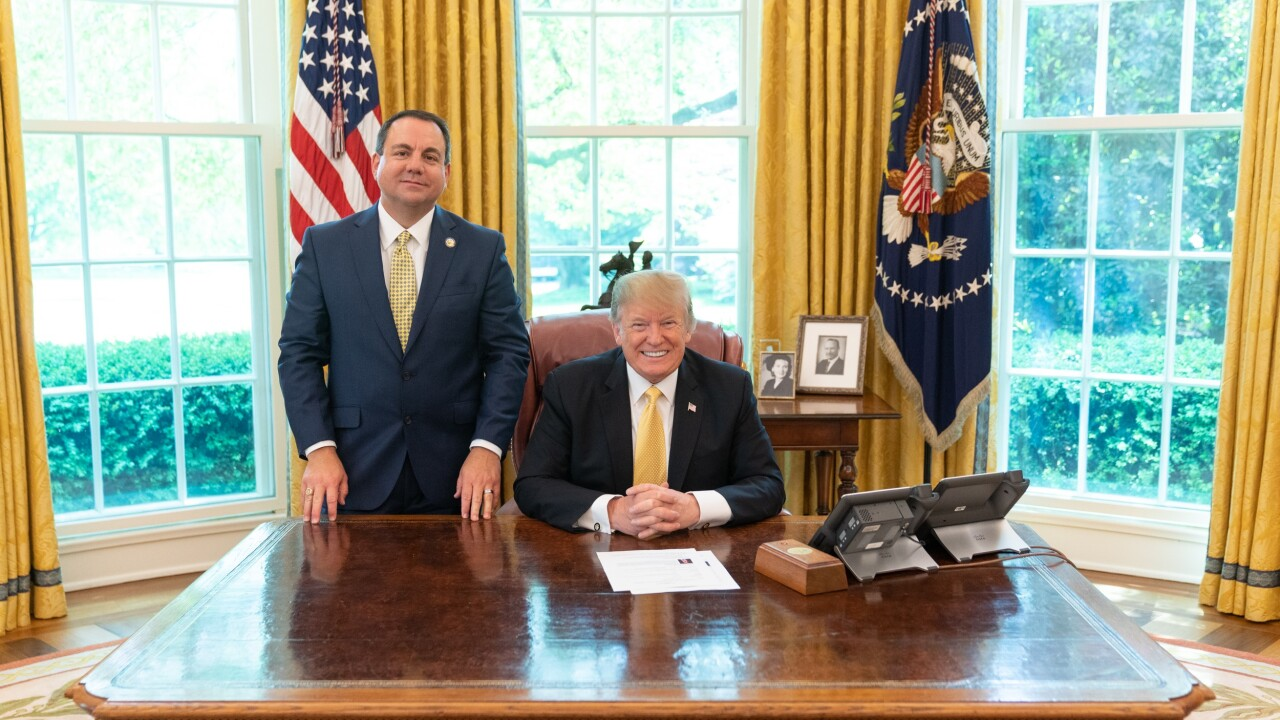 Yuma Mayor Nicholls meets Trump