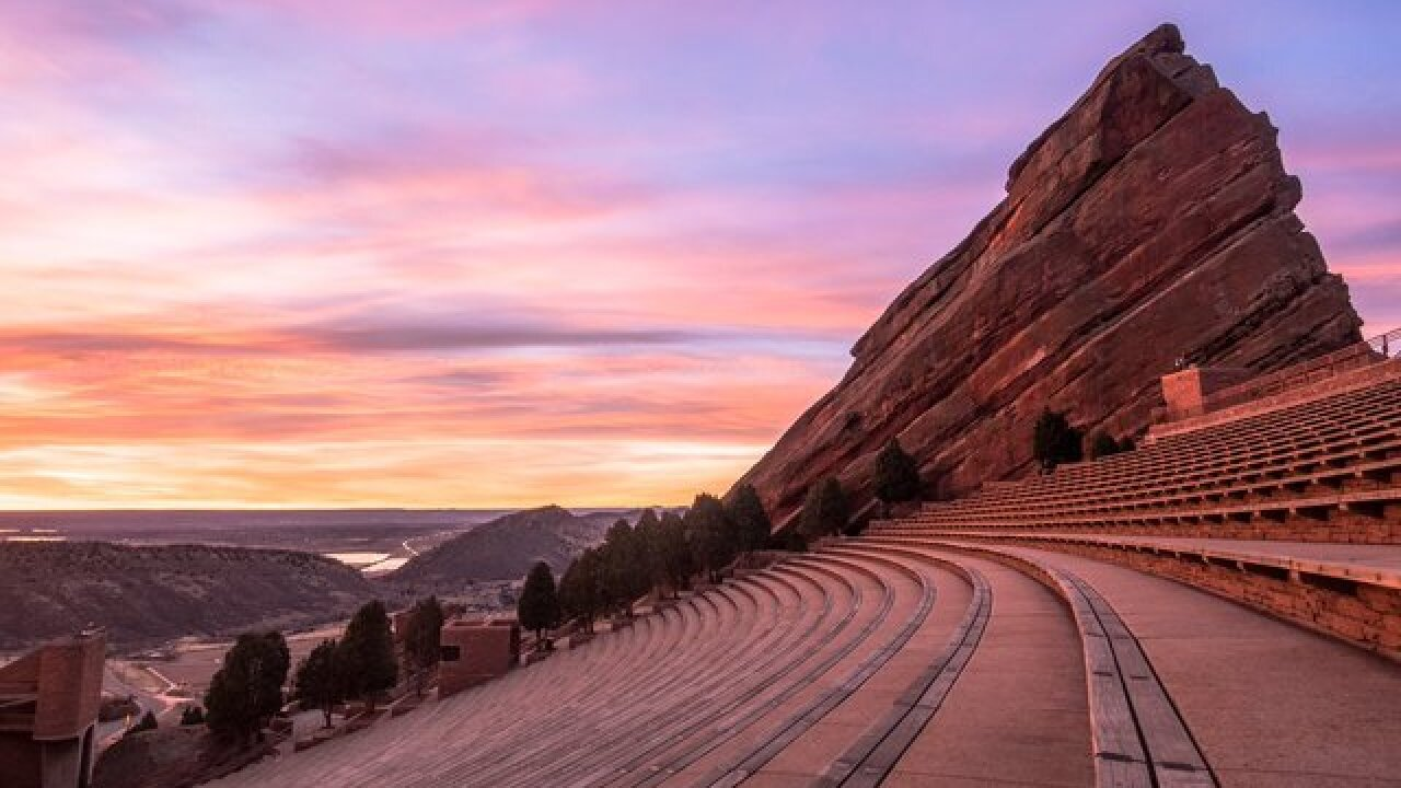 Calling all artists: Red Rocks Amphitheatre holding poster design contest