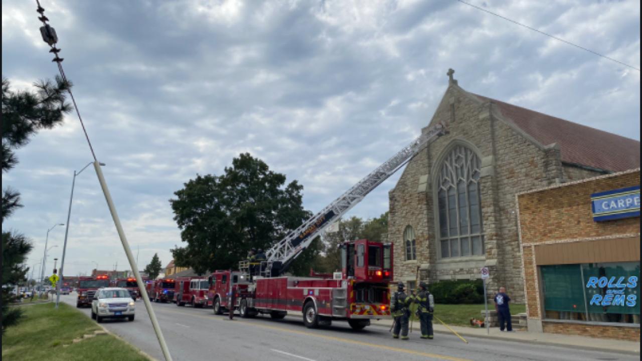 Keystone United Methodist Church fire