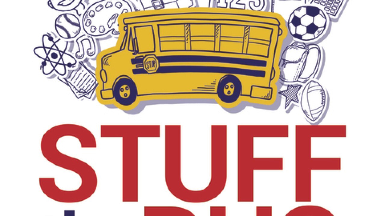 Local Agencies Partner to 'Stuff The Bus' for School Kids in Need