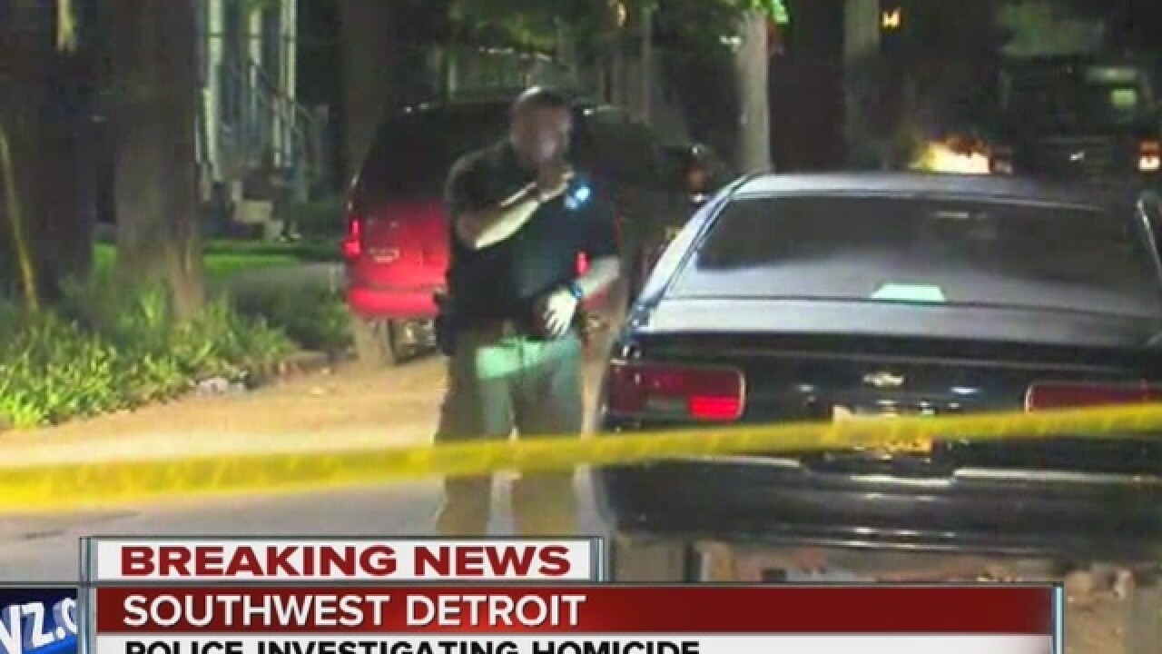 Man found dead after stabbing in Detroit home