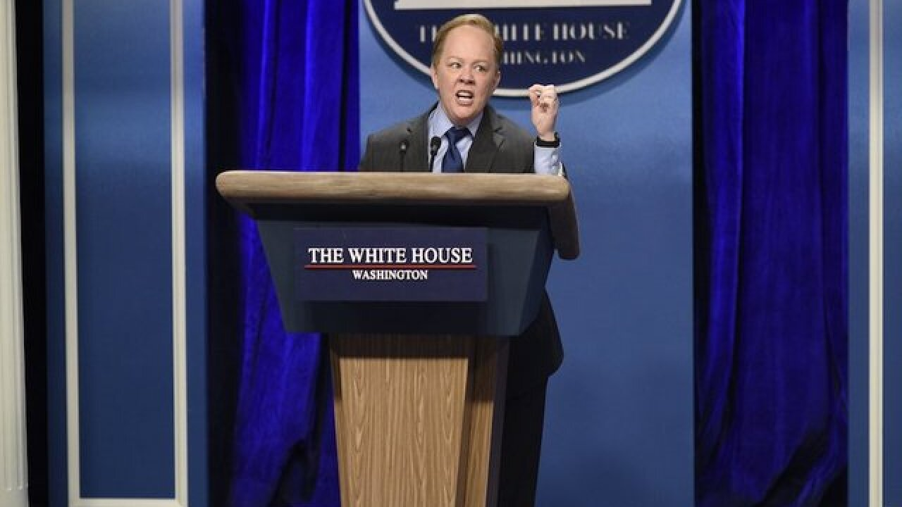 Sean Spicer says Melissa McCarthy could dial it back a bit