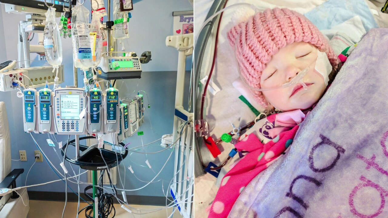 How you can help 2-year-old Brynna Kate battle leukemia: 'She's a fighter'