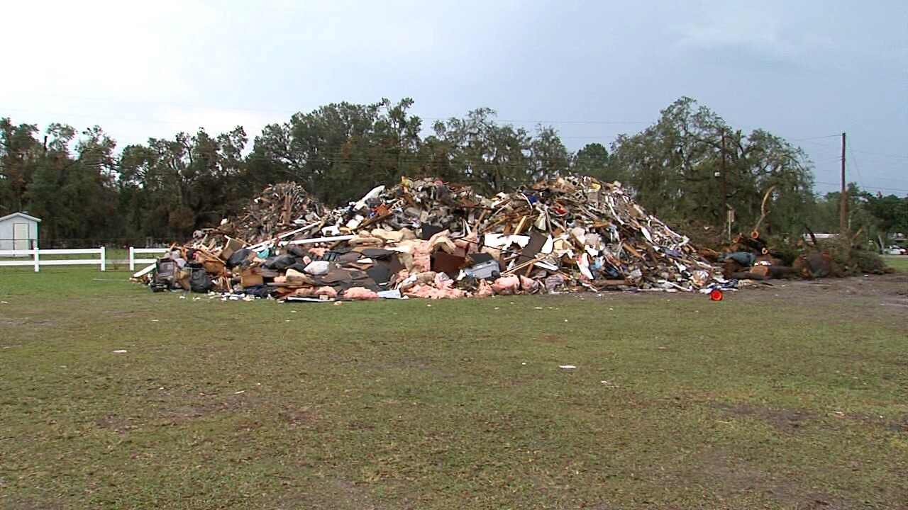 Polk County cleanup