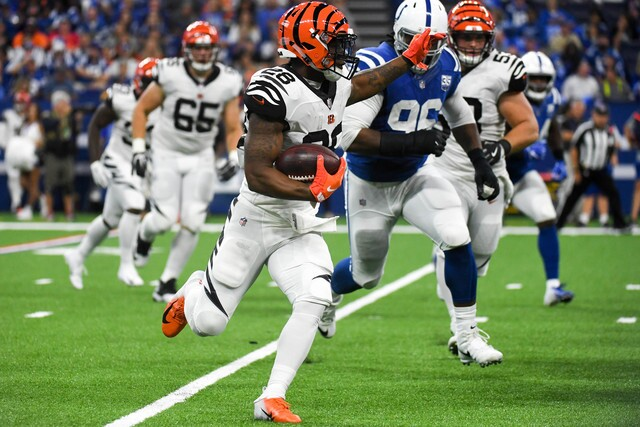 PHOTOS: Colts lose to Bengals at home