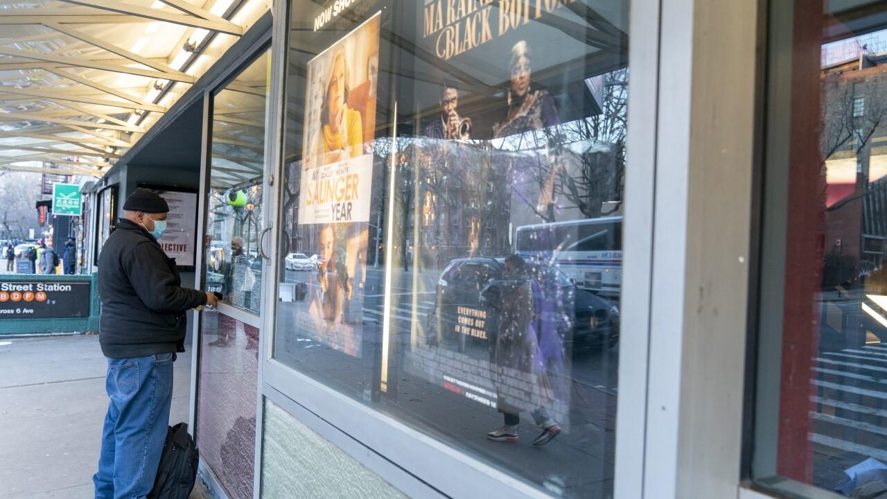 New York Cinemas Reopen