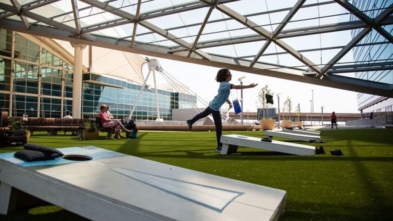 DIA brings pop-up park to open-air plaza