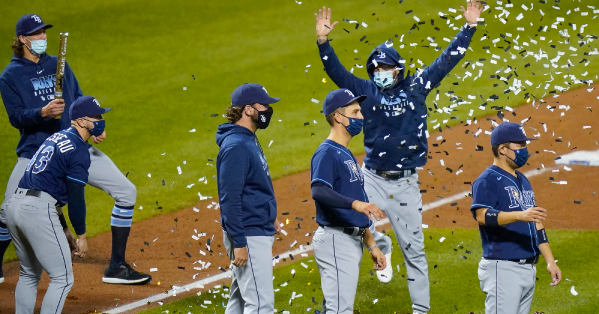 Tampa Bay Rays clinch first AL East title in 10 years