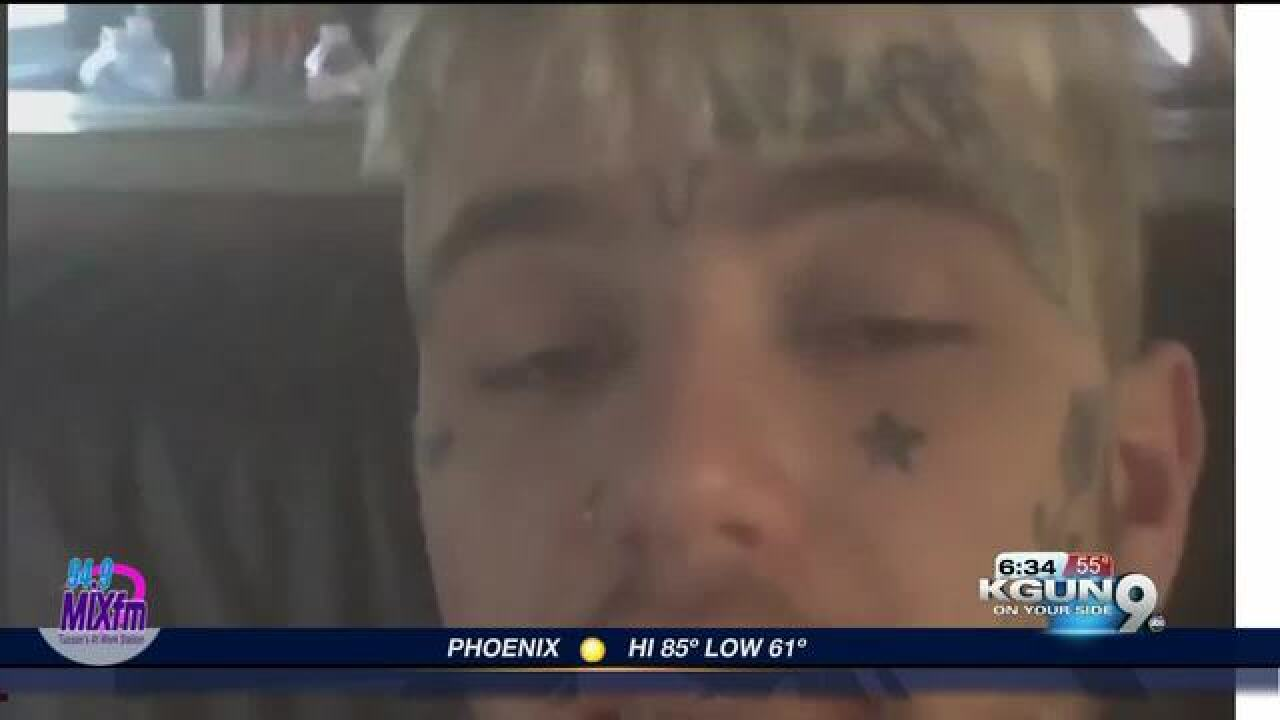 Rapper Lil Peep dies before Tucson performance
