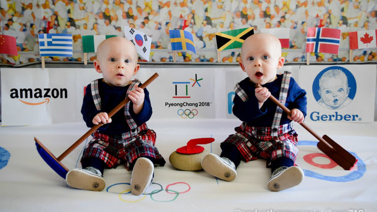 California twins pose as Olympians for Instagram