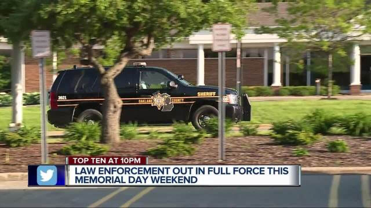 Law enforcement launches Memorial Day crackdown