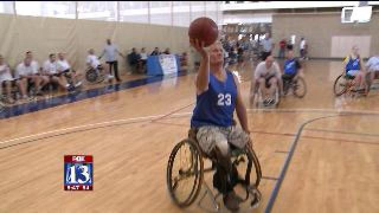 HAFB wheelchair basketball game raises disability awareness