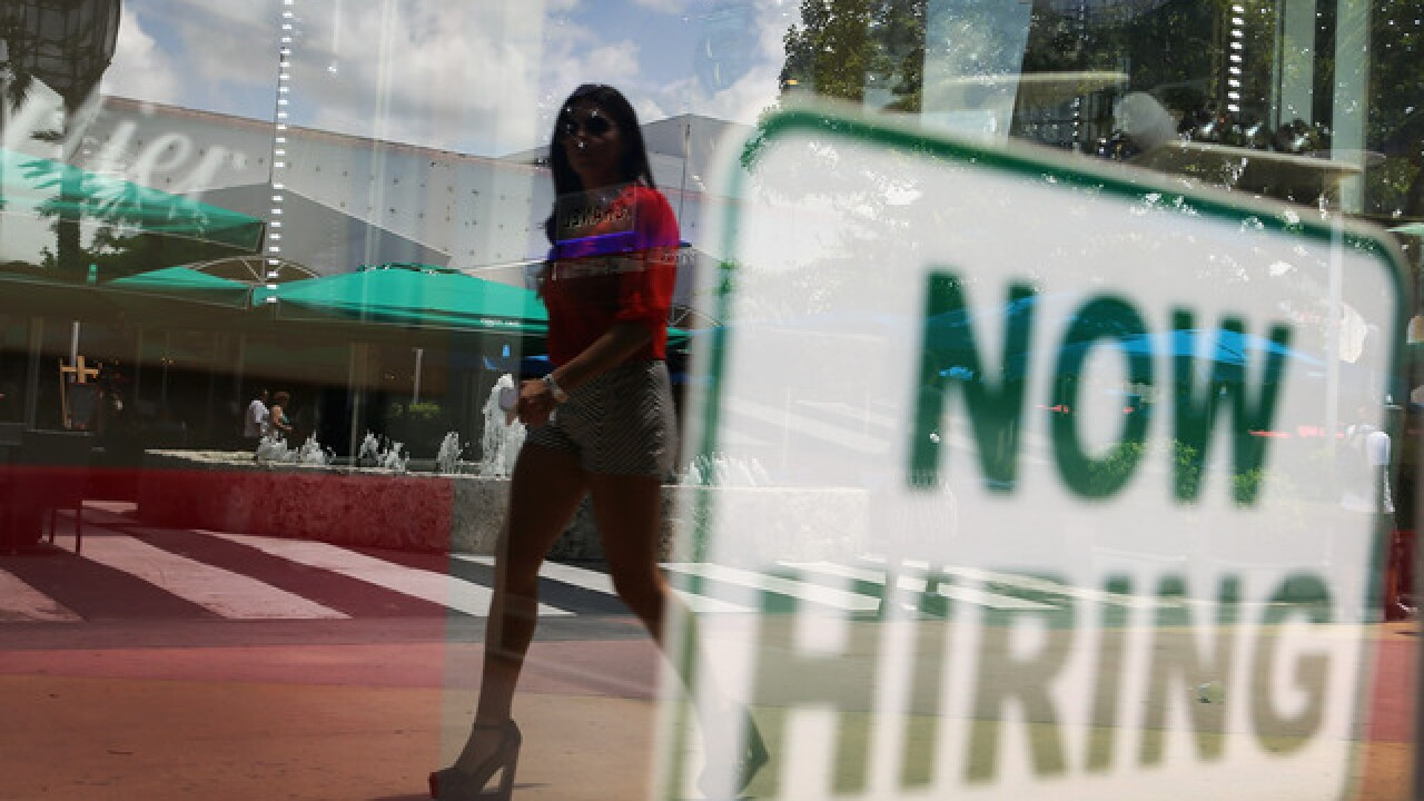 Ohio: State employment numbers at all-time high in September