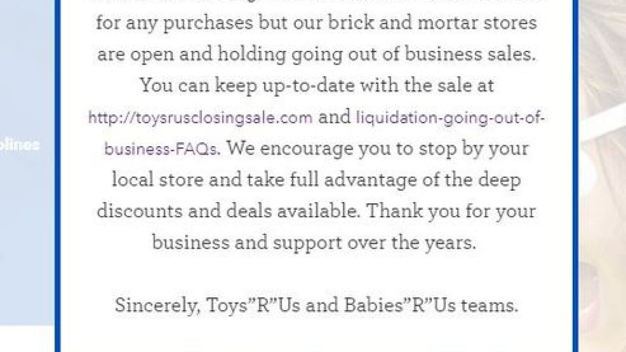Bed Bath & Beyond accepts Toys 'R' Us gift cards