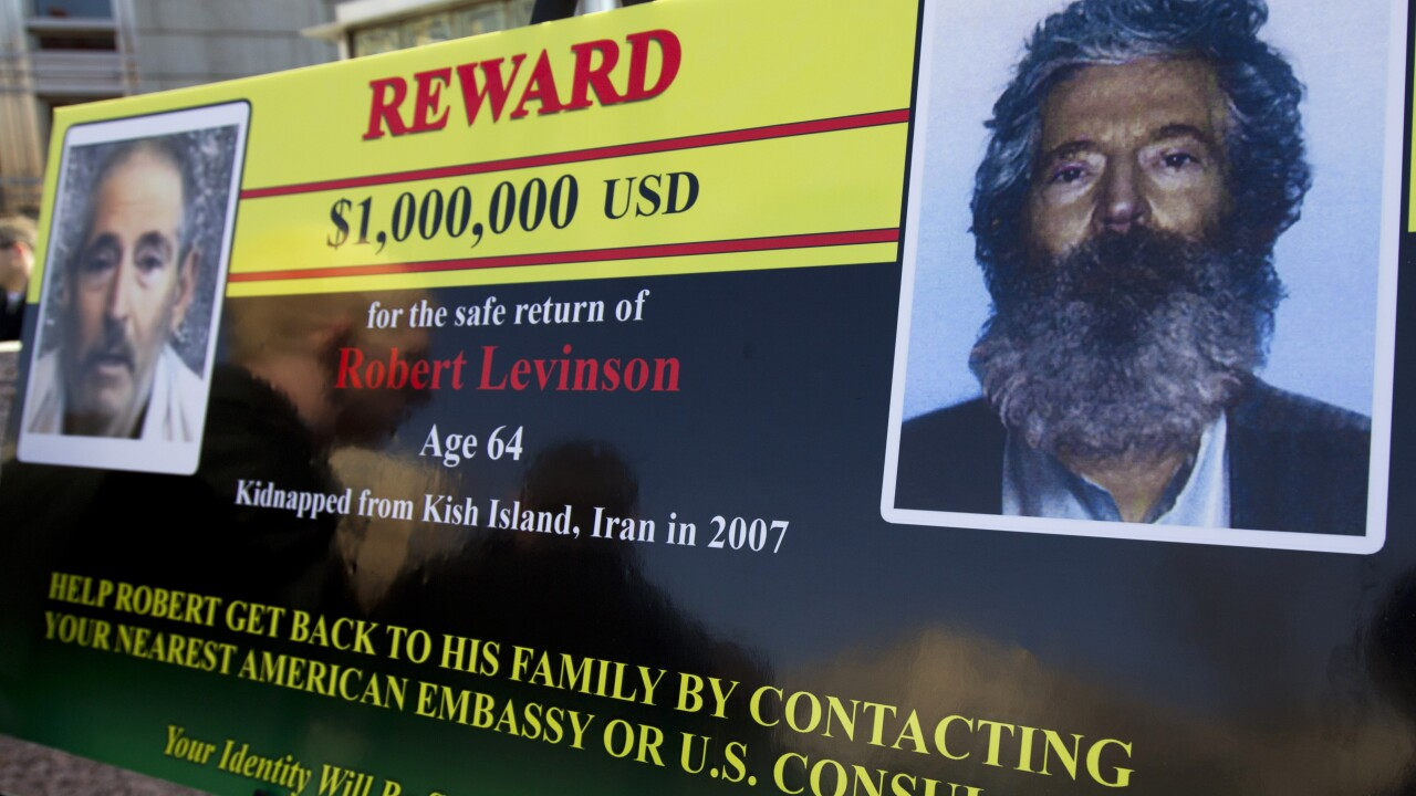 Family: US believes ex-FBI agent Robert Levinson has died while in Iranian custody