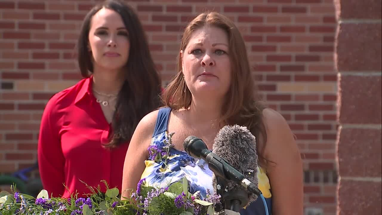 Karen Garner's daughter-in-law Shannon Steward