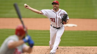 Max Scherzer carries playoff skid into Brew-Nats wild-card game