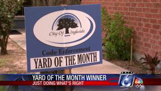 Ingleside Yard of the Month