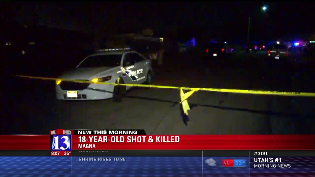 Police identify victim in fatal shooting in Magna