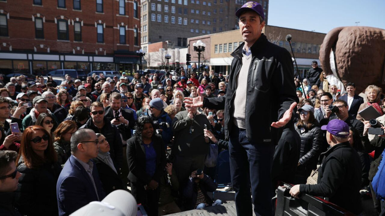 Beto O'Rourke raised massive $6.1 million his first day in the 2020 race, campaign says