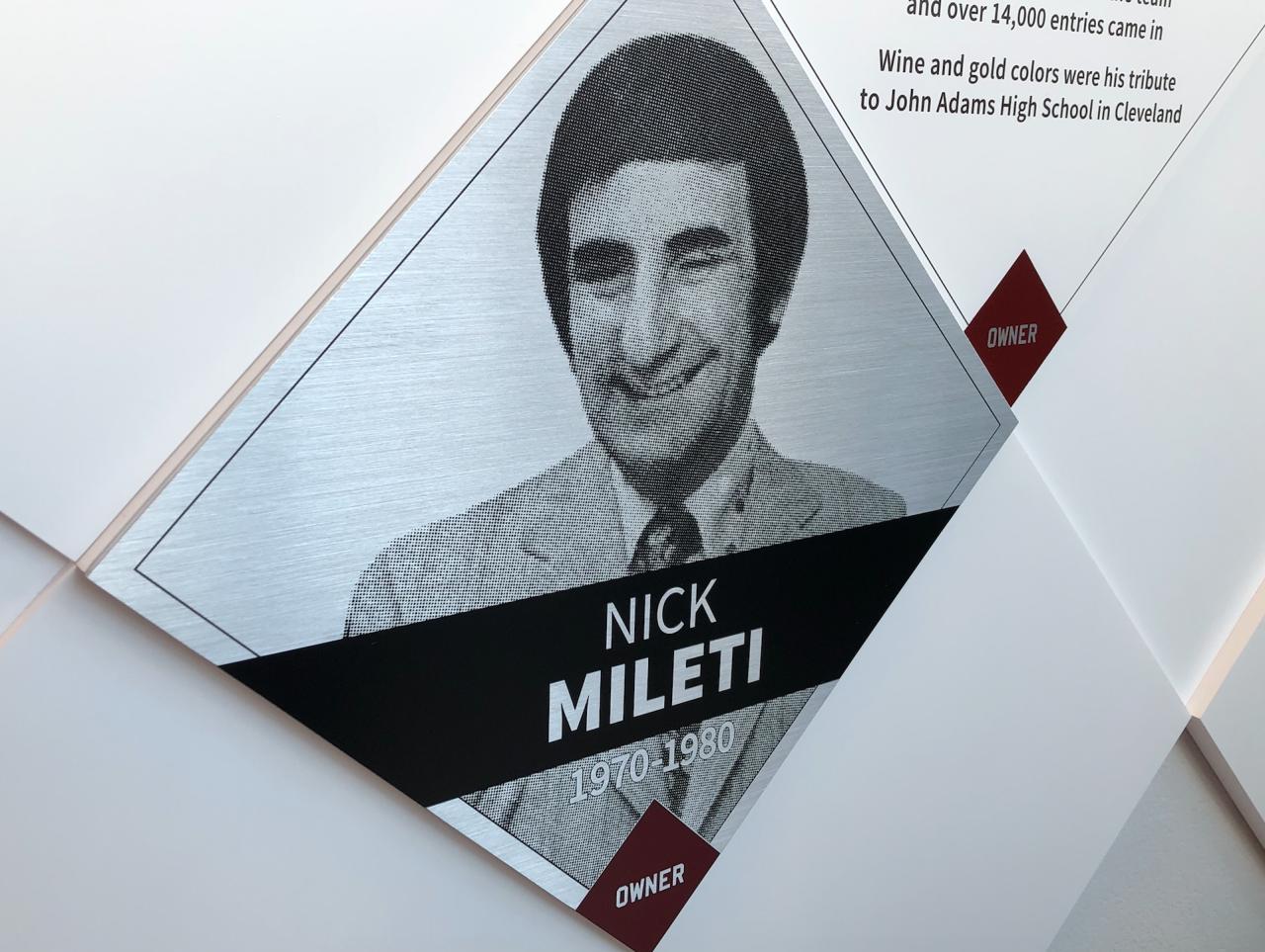 Nick Mileti Wall of Fame