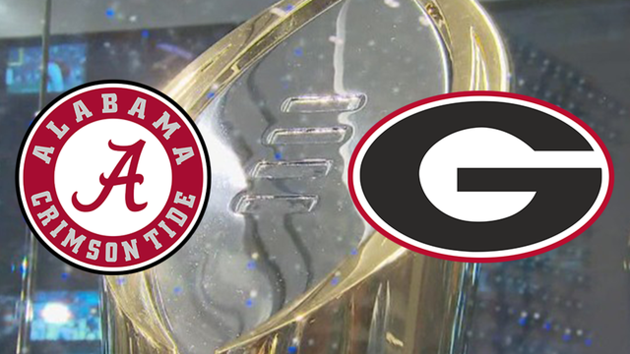 National Championship 2018: Alabama vs. Georgia