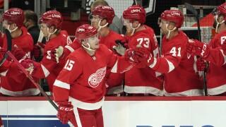 Jakub Vrana Stars Red Wings Hockey