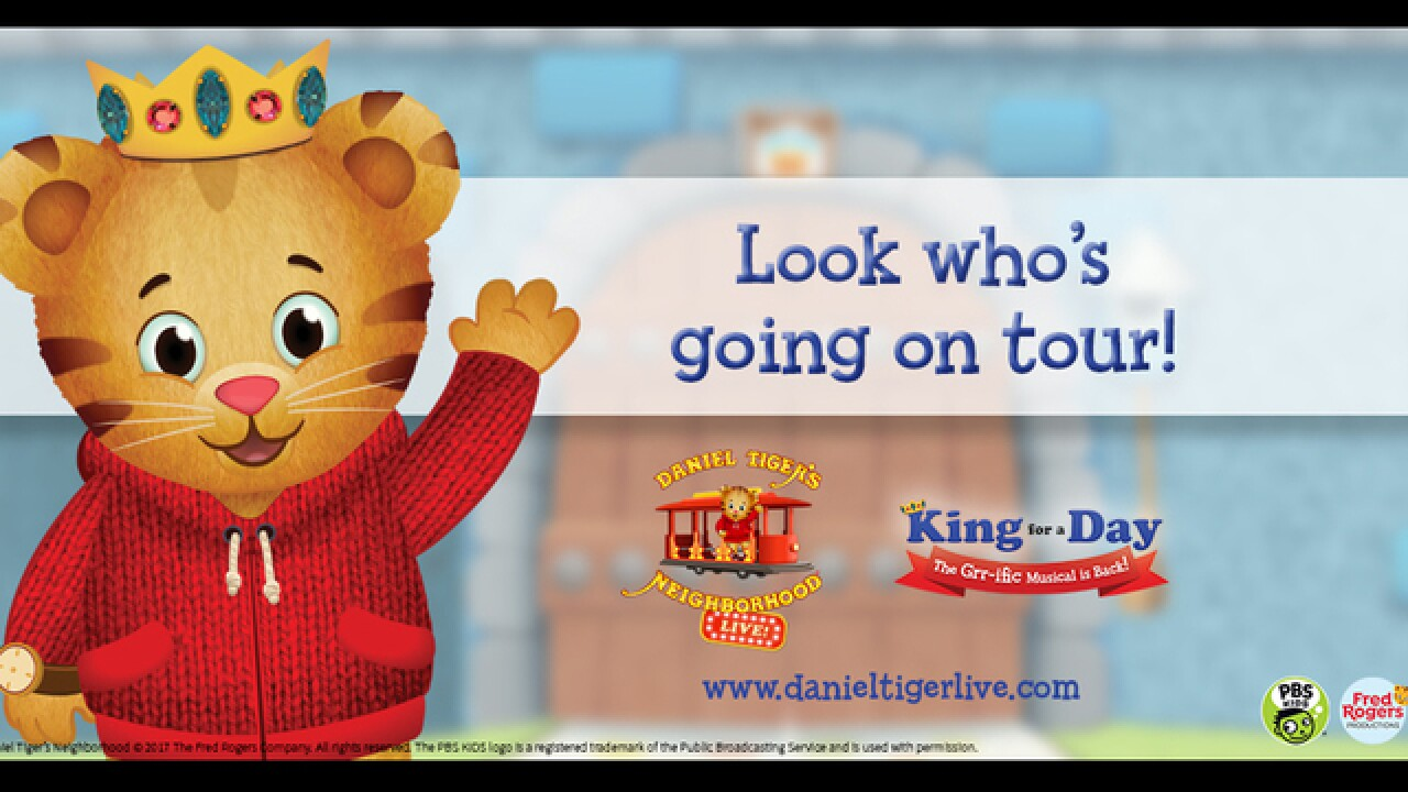 Daniel Tiger's Neighborhood Live coming to Wharton Center
