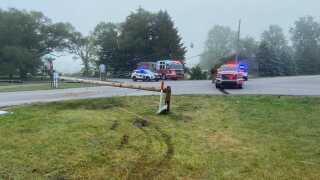 car crash blendon twp