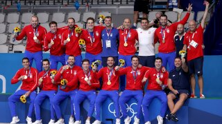 Serbia takes home final gold medal of the Tokyo Olympics