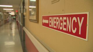 emergency hospital sign